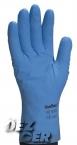 Rękawice flokowane niebieskie