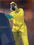 Kombinezon ChemMAX 1 żółty kaptur