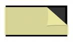 Lep do lampy jednostronny 420x230mm miękki 20szt